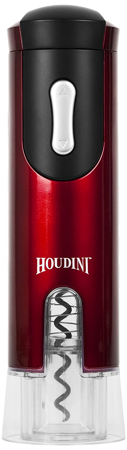 HOUDINI TAPHW2925, Electric Houdini Corkscrew (Metallic Red)