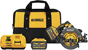 DEWALT FLEXVOLT 60V MAX Circular Saw with Brake Kit, 7-1/4-Inch (DCS578X2)