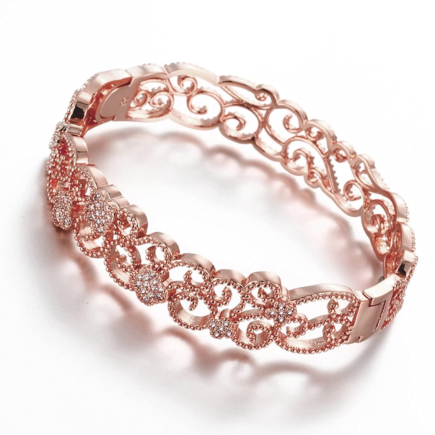 by gold product red redgold castorette love paris bracelet