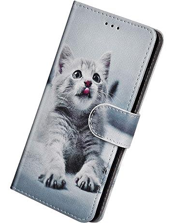 Dog JAWSEU Custodia a Portafoglio in Pelle PU con Design 3D Compatibile con iPhone 6 Plus//6S Plus