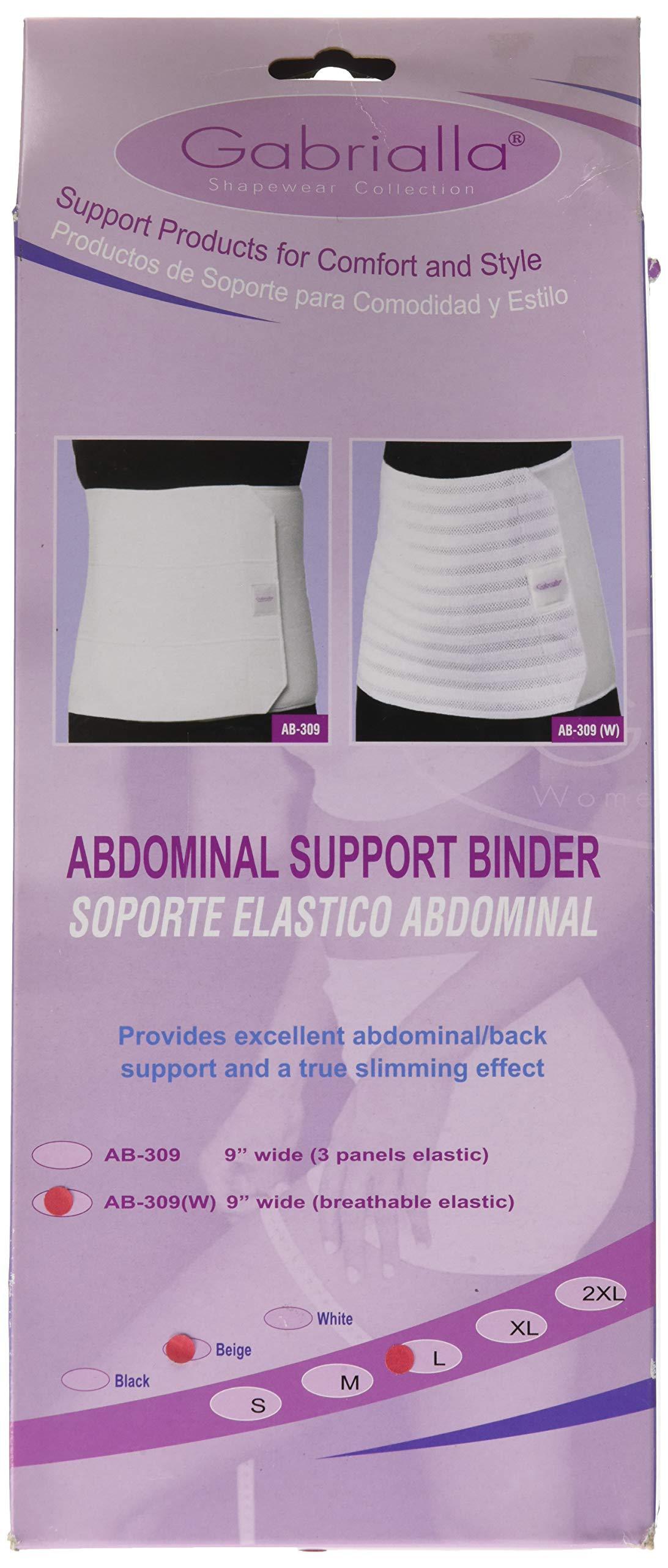 1e9dda62e5d8c Amazon.com  GABRIALLA AB-309(W) Breathable Abdominal Support Binder (9