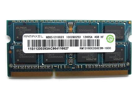 Ramaxel 4gb Ddr3 Pc3 12800s 1600mhz Laptop Ram Memory Rmt3160ed58e9w