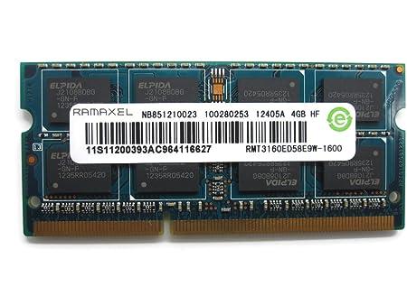 Ramaxel 4gb Ddr3 Pc3-12800s 1600mhz Laptop Ram Memory Rmt3160ed58e9w Internal Memory Card Readers at amazon