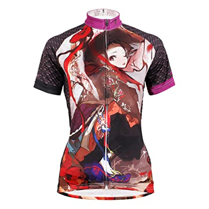 Paladin Women s Cycling Shirts Short Sleeve Shayi Pattern Cycling Jersey  Design Size S 7bf63b10a