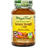 MegaFood - Turmeric Strength for Liver, Supports Healthy Function of the Liver, 60 Tablets (FFP)