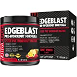 EDGEBLAST 5-Step Pre-Workout Matrix Promotion NutraEdge 435G Pre-Workout Formula, Heightens Energy Levels Promotes Strength Gains and Muscle Pumps Fruit Punch Flavor