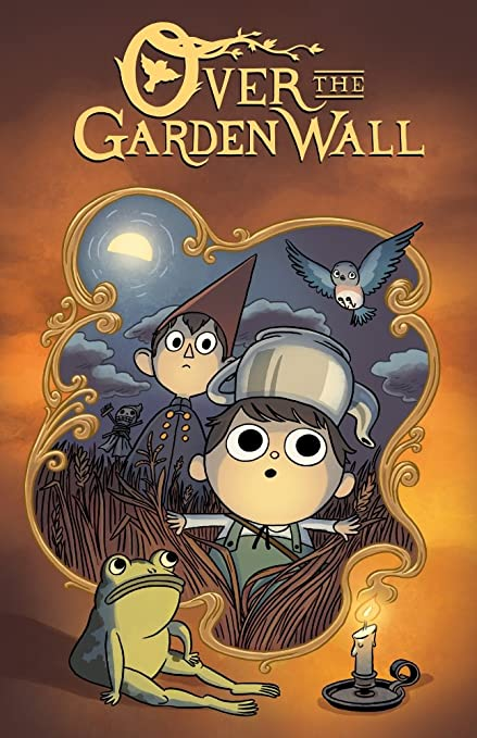 over the garden wall candlelight poster - Over The Garden Wall Poster
