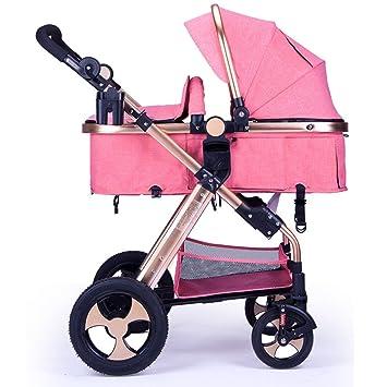 WUZHI Cochecito De Bebé Cochecito Plegable SUV Amortiguador ...