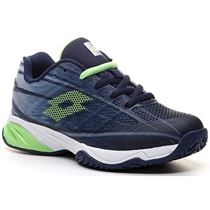 Lotto Zapatilla Pádel Tenis Junior Mirage 300 ALR. 210746. Navy Blue/Green.