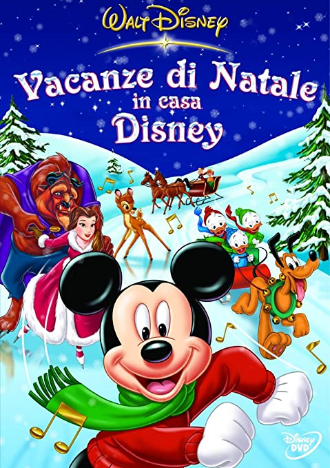 Immagini Natalizie Walt Disney.Vacanze Di Natale In Casa Disney Amazon It Cartoni Animati Film E Tv