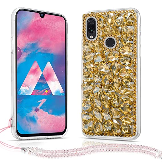 Amazon.com: Samsung Galaxy M30 Case, Bling Glitter Luxury ...