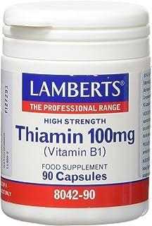LAMBERTS - TIAMINA (VIT. B1) 100mg 90cap LA804290