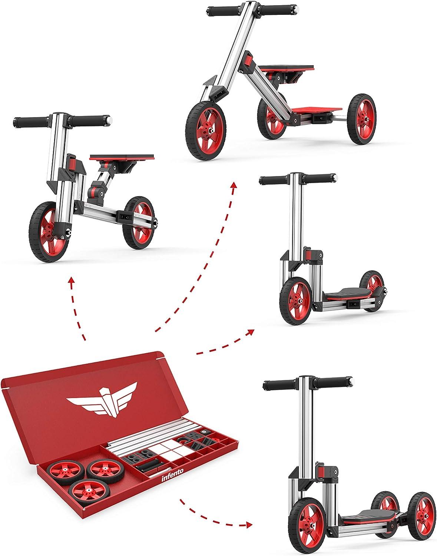 Infento Go Kit | Kit de construcción modular 4 en 1 | para niños ...