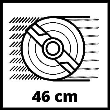Einhell GC-PM 46 S - Cortacésped (Cortacésped manual, 46 cm ...