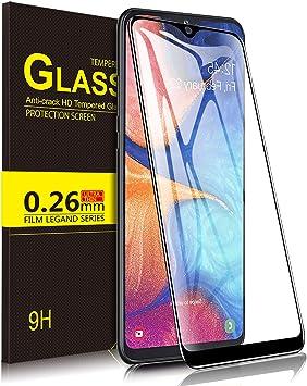 Yocktec Cristal Templado para Samsung Galaxy A20e, [Dureza 9H ...