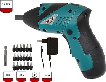 Cacciavite elettrico ricaricabile per il montaggio di mobili da cucina ecc. batteria agli ioni di litio da 3,6 V armadi scaffali