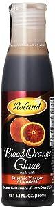 Roland Foods Balsamic Glaze, Blood Orange, 5.1 Ounce
