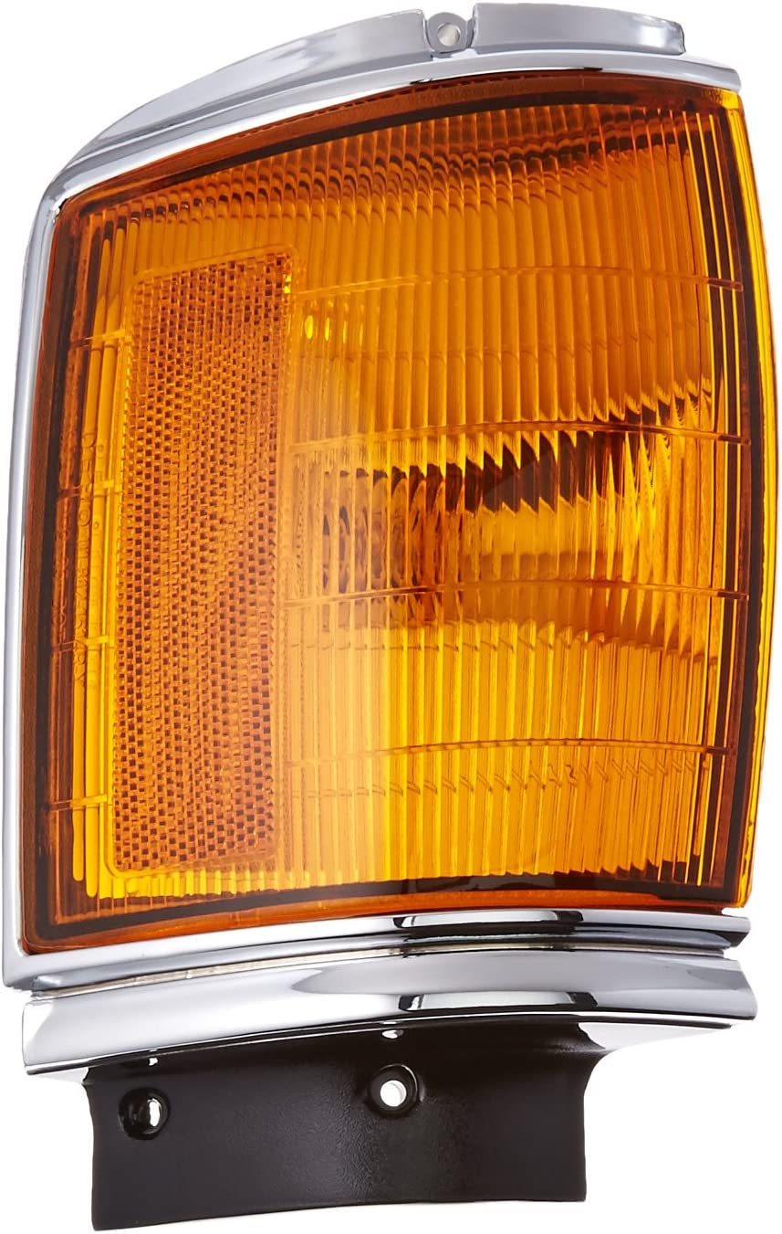 Driver and Passenger Park Signal Corner Marker Lights Lamps with ChromeTrim Replacement for Toyota Pickup Truck SUV 8162089168 8161089168