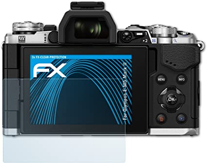 Atfolix Schutzfolie Kompatibel Mit Olympus E M5 Mark Ii Kamera
