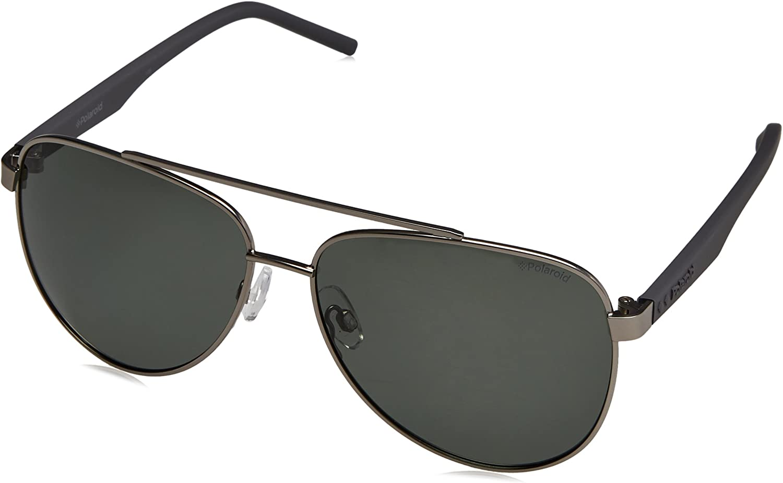 Polaroid PLD2043//S Men/'s Pilot sunglasses with Polarized lens