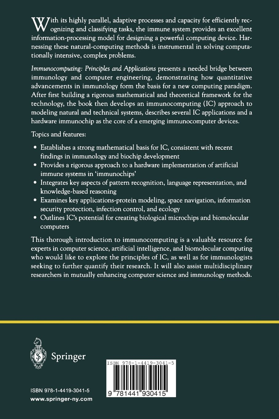 Get Immunocomputing: Principles and Applications PDF - Lefty's Fry