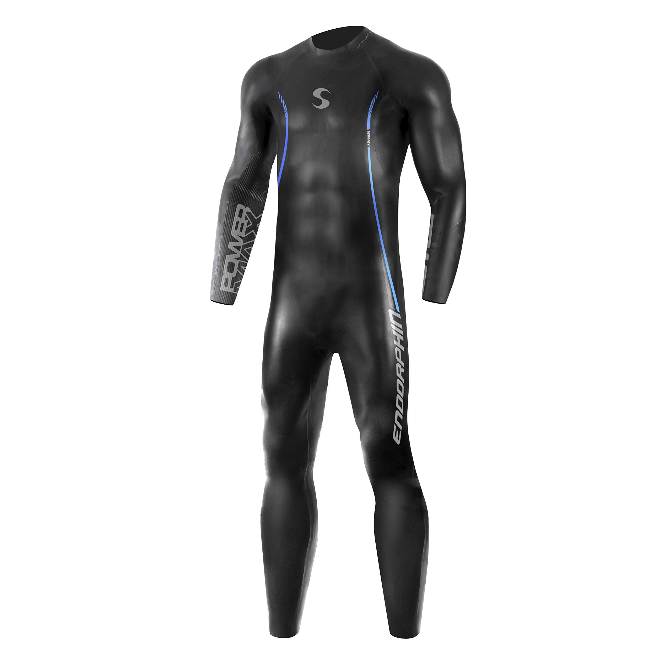 c9c1d71d4c4 Synergy Triathlon Wetsuit 5 3mm - Men s Endorphin Fullsleeve Smoothskin  Neoprene for Open Water Swimming Ironman   USAT Approved