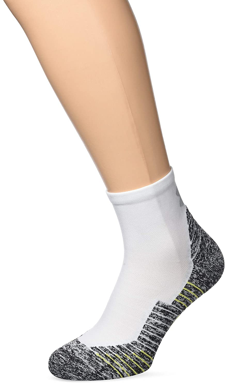 Under Armour Men's Run Cushion Quarter Socks 1315588-100