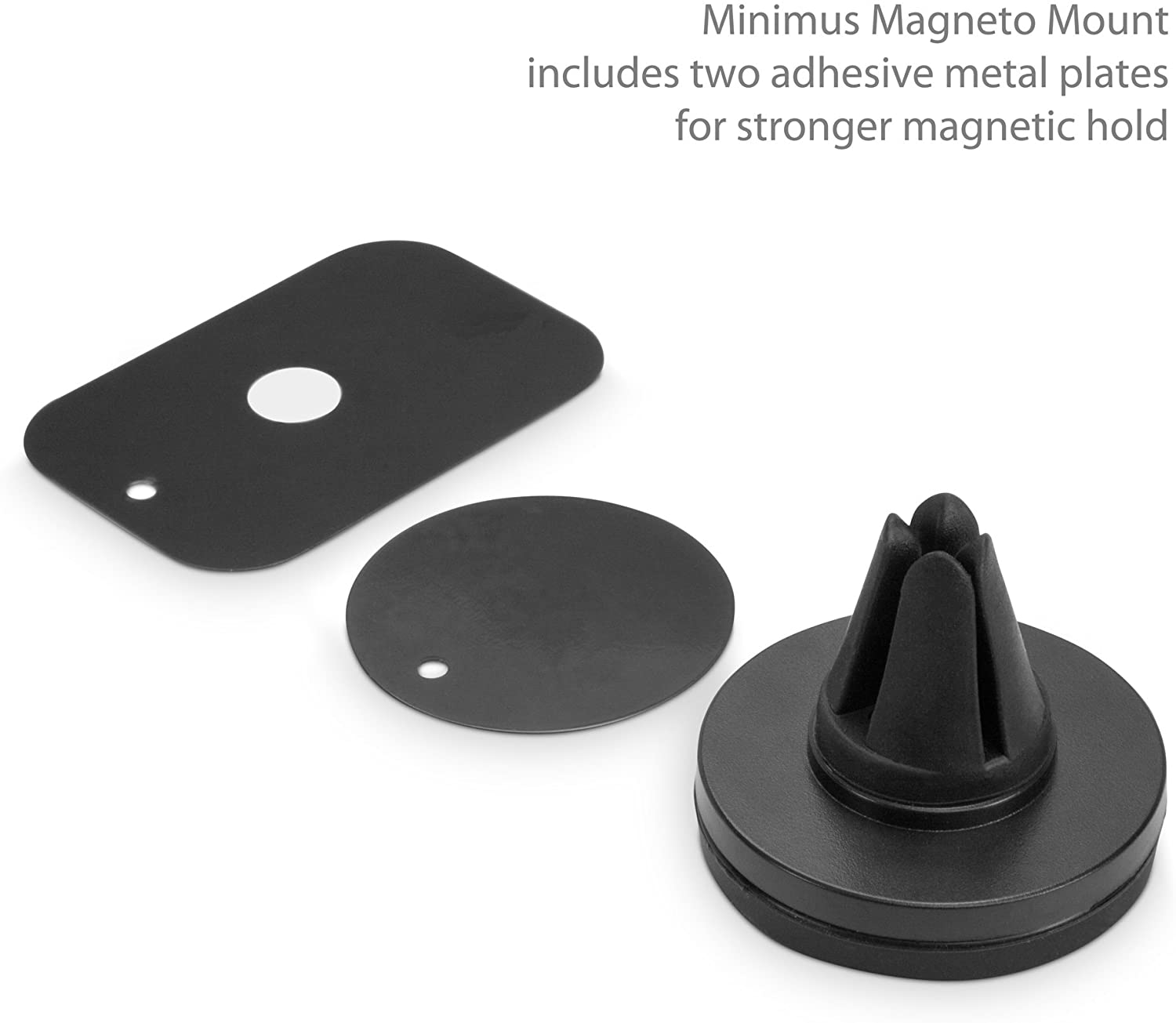Minimus MagnetoMount Umidigi F1 Play Car Mount BoxWave Magnetic Car Mount Magnetic Car Holder for Umidigi F1 Play