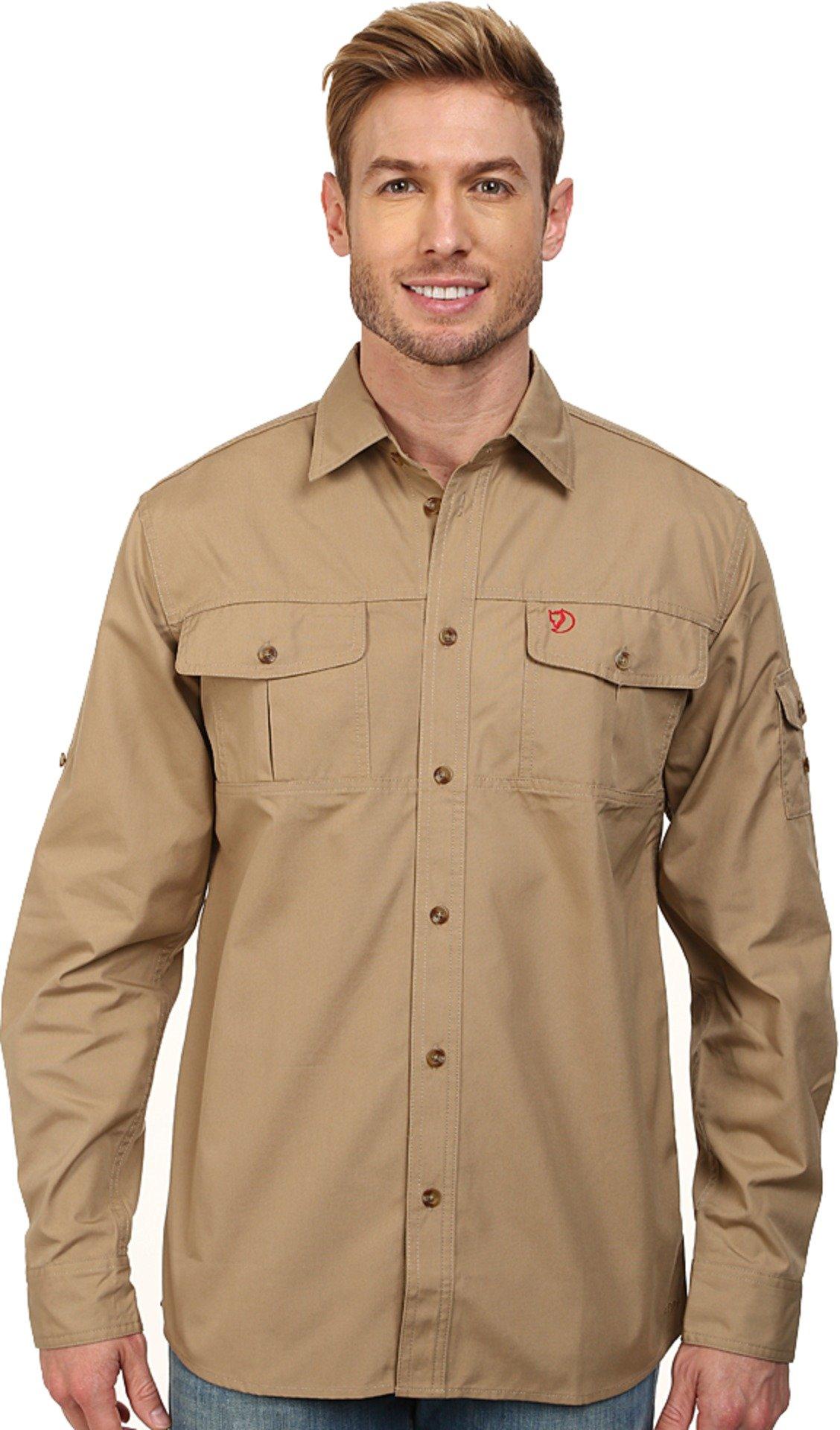 Fjallraven Men's Sarek Trekking Shirt, Sand, X-Large