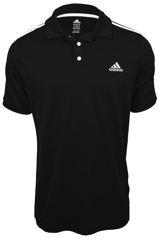 adidas polo shirts black
