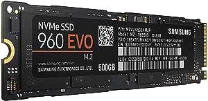 Samsung 960 EVO 500GB Solid State Drive (MZ-V6E500BW) m.2 NVMe