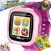 Reloj Inteligente Pantalla táctil Niños Game Smartwatches Función de cámara Pedómetro Calculadora Función de Alarma…