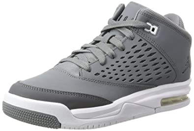 wholesale dealer b5ae8 86dd3 Nike Jordan Flight Origin 4 BG Chaussures de Basketball Fille, Gris (Cool  Black