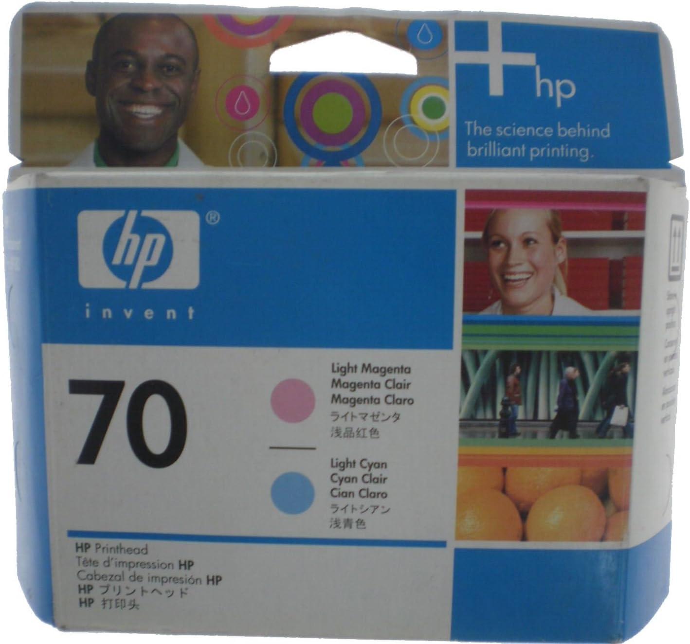 HP Cabezal de impresión Magenta Claro y Cian Claro HP 70 70 ...