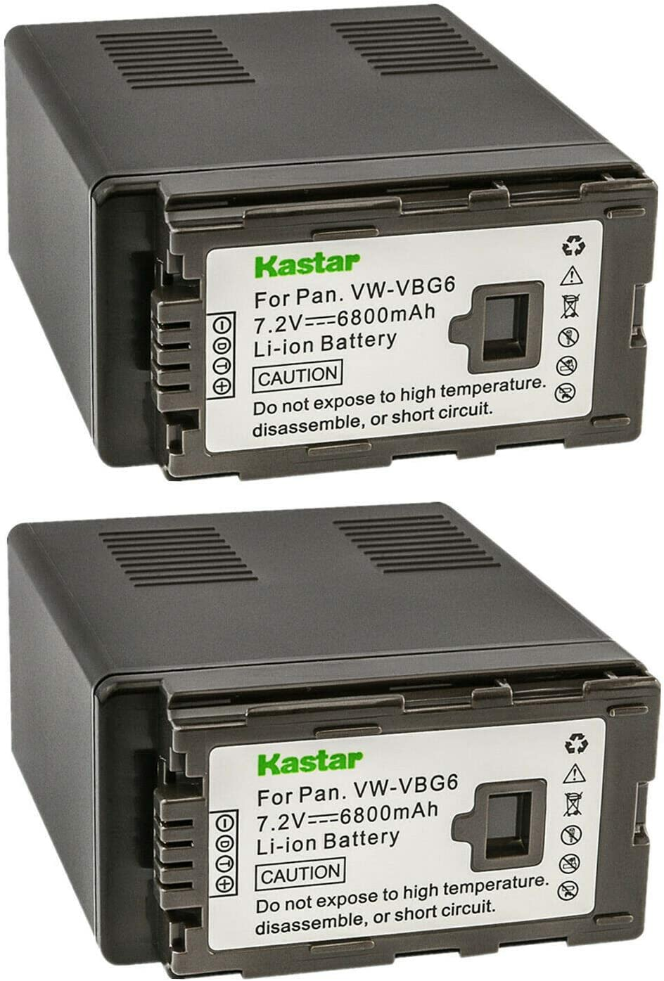 SDHC 2 Pack Panasonic VDR-D51 Camcorder Memory Card 2 x 8GB Secure Digital High Capacity Memory Cards