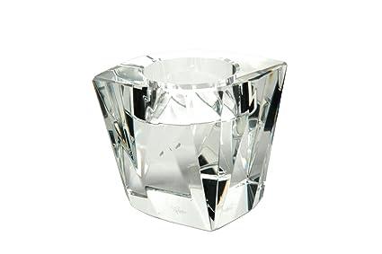 Amazon Oleg Cassini 126441 Memphis Crystal Votive Candle Holder