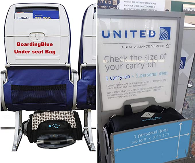 united airlines baggage size limits