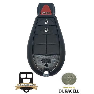 BestKeys Keyless Entry Remote Fobik Key Compatible with 2008-2012 Grand Caravan: Automotive