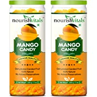 Nourish Vitals Mango Dried Fruit (Dehydrated Fruits) - 200 gm - Pack Of 2