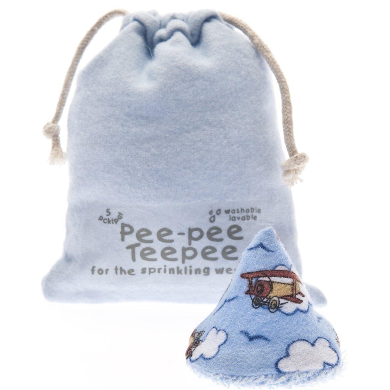 Pee-pee Teepee Airplane Blue - Laundry Bag Beba Bean PT3022-1
