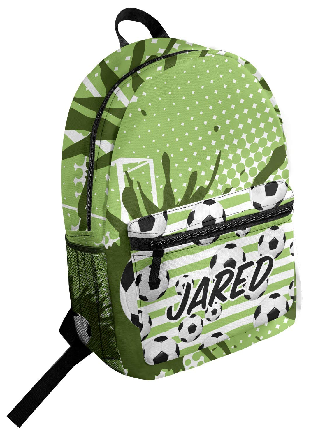 Personalized Soccer Student Backpack