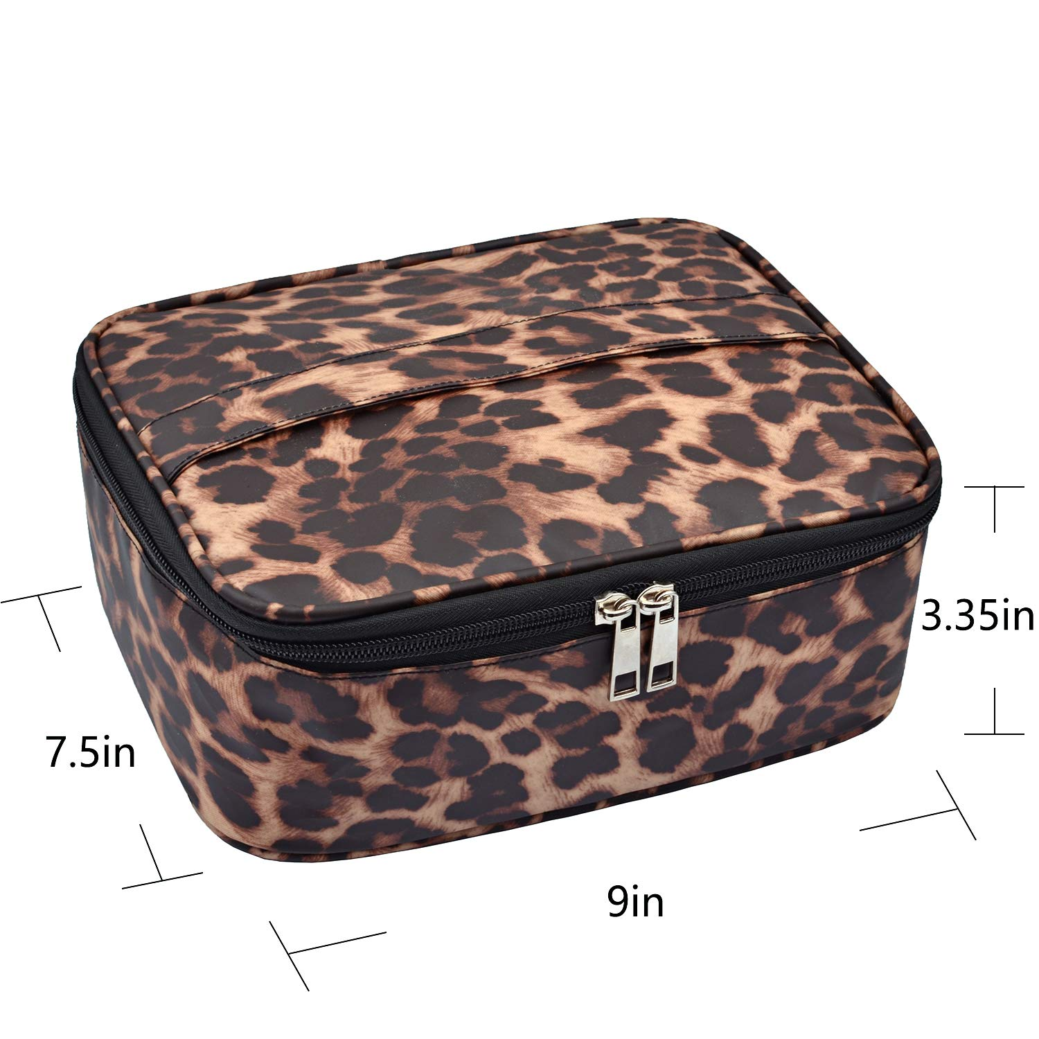 MKPCW Portable Travel Makeup Cosmetic Bags Organizer Multifunction Case Toiletry Bags for Women : Beauty