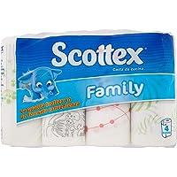 la Qualità Scottex in Formato Convenienza, 4 Rotoli -