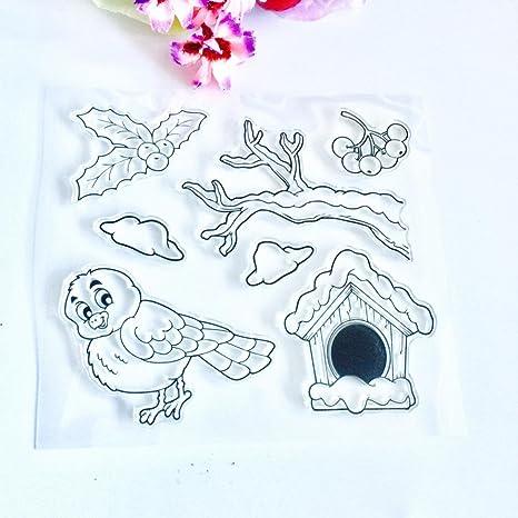 Bird Metal Cutting Dies Stencils Scrapbook Photo Album Decoration Craft   xk
