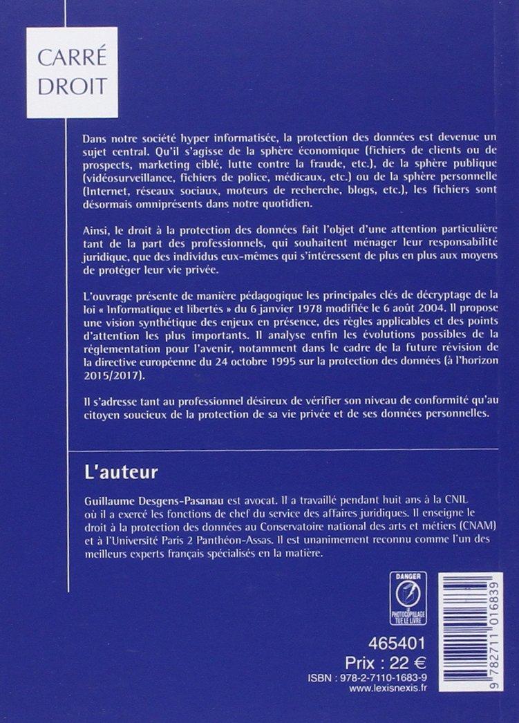 La protection des donnees a caractere personnel: 9782711016839: Amazon.com: Books