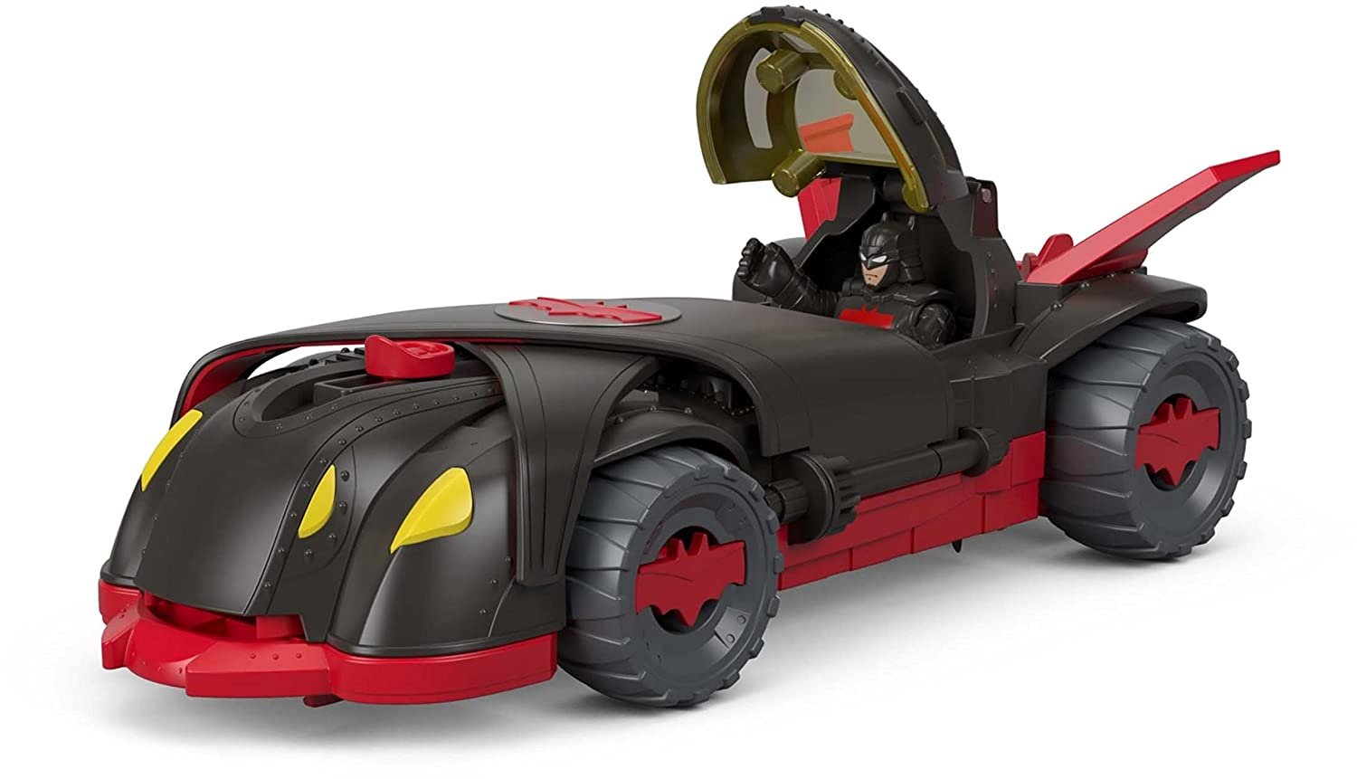 Fisher-Price Imaginext DC Super Friends Ninja Armor Batmobile Mattel FTG92