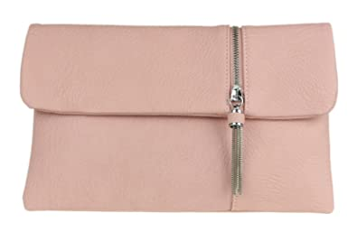 Girly HandBags - Cartera de mano de Material Sintético para mujer rosa Blush