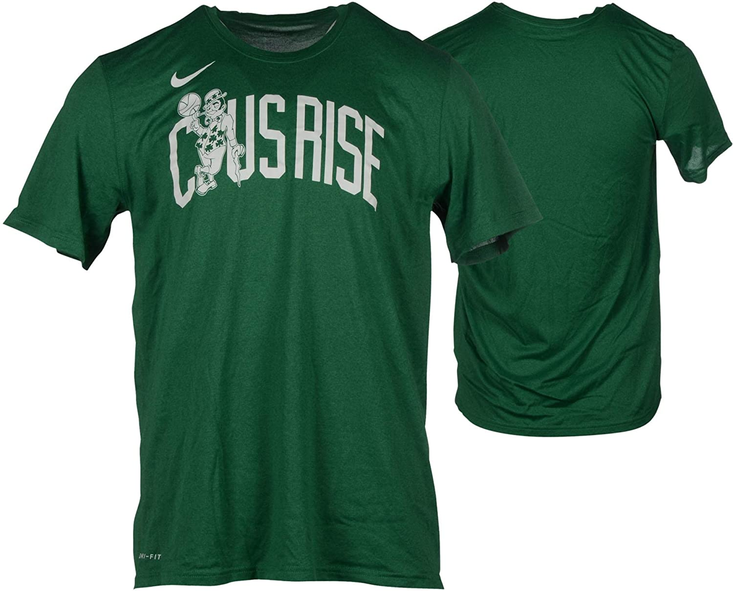 best cheap a5015 10b41 Amazon.com: Boston Celtics Team-Issued Green Shirt from the ...