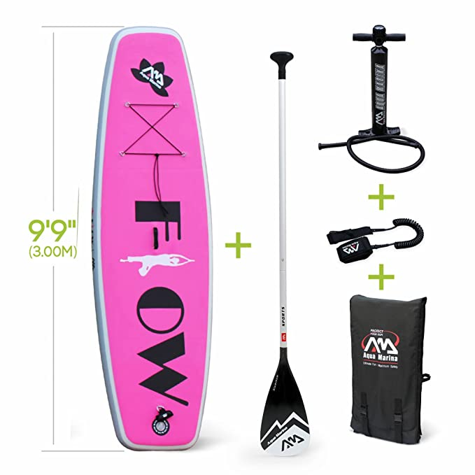 Alices Garden - Stand up paddle hinchable, 15 cm de grosor ...