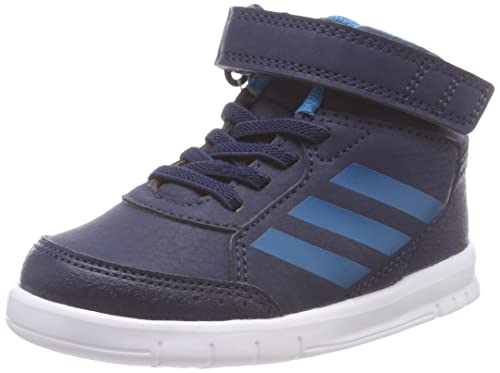 factory authentic 9e10f ba747 adidas Infant Kids Shoes AltaSport Performance Mid Ortholite Trainers BB6207  (US 3.5K) Navy